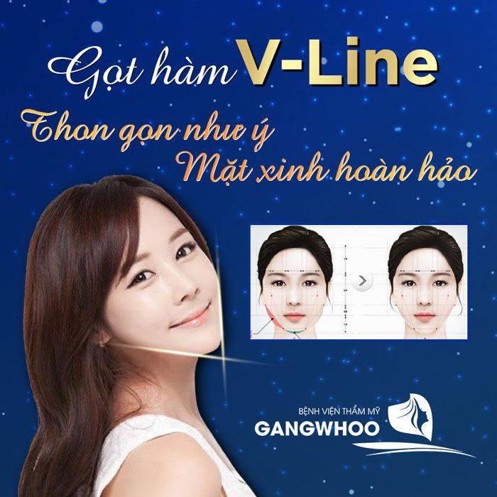 V-Line Jaw Trim at Gangwhoo Cosmetic Hospital