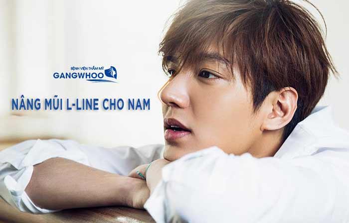 Nâng Mũi L Line Cho Nam