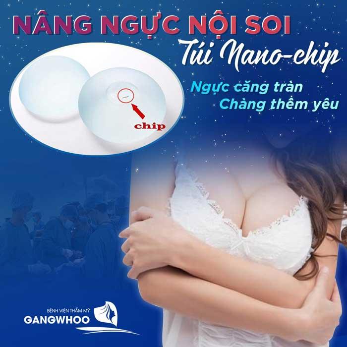 Nâng Ngực Nội Soi Túi Nano Chip