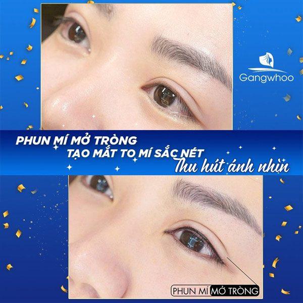 Phun Mí Cho Mắt Thêm Xinh