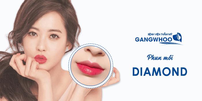 Phun Môi Diamond Tại Bệnh Viện Thẩm Gangwhoo