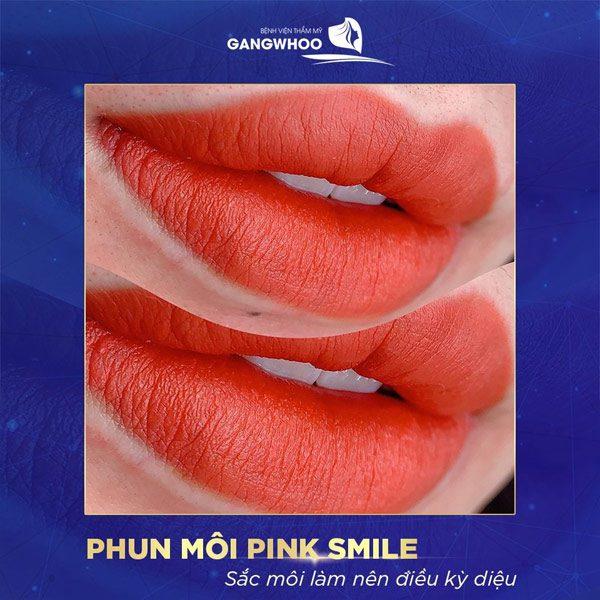 Phun Môi Pink Smile Khiến Đôi Môi Thêm Quyến Rũ