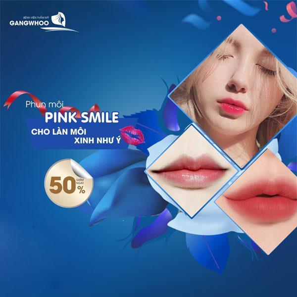 Phun Môi Pink Smile - Tư Tin Khi Mỉm Cười