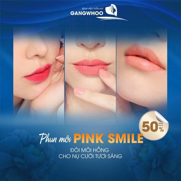 Phun Môi Pink Smile Khiến Nụ Cười Thêm Xinh