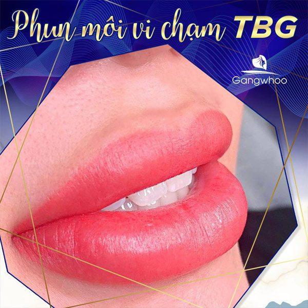 Phun Môi Vi Chạm TBG - Môi Hồng Thêm Xinh