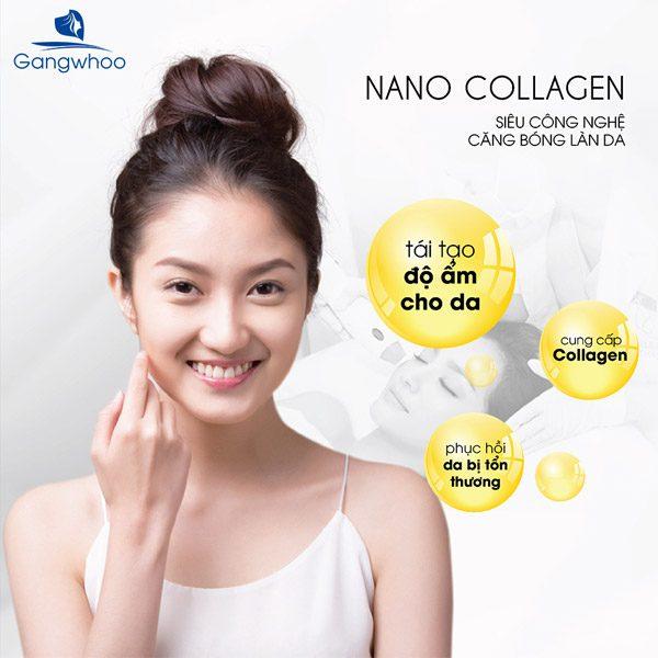 Trẻ Hóa Da Nano Collagen - Làn Da Luôn Tươi Trẻ