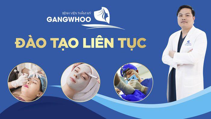 Đào tạo liên tục bệnh viện thẩm mỹ Gangwhoo