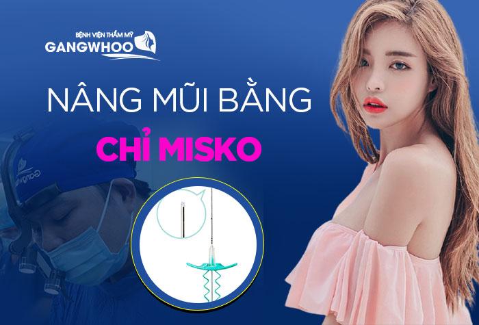 Tìm hiểu phương pháp nâng mũi bằng chỉ misko
