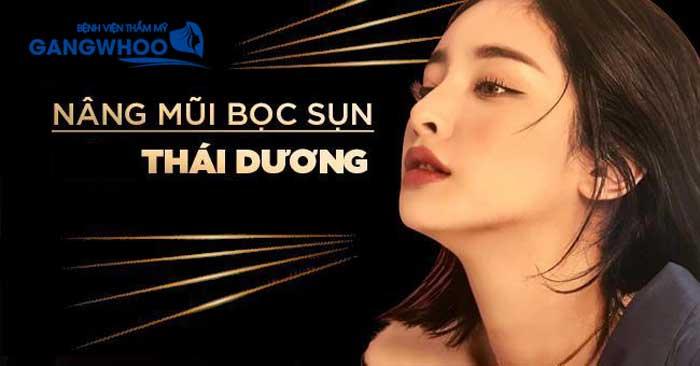 nang mui boc sun can thai duong la nhu the nao