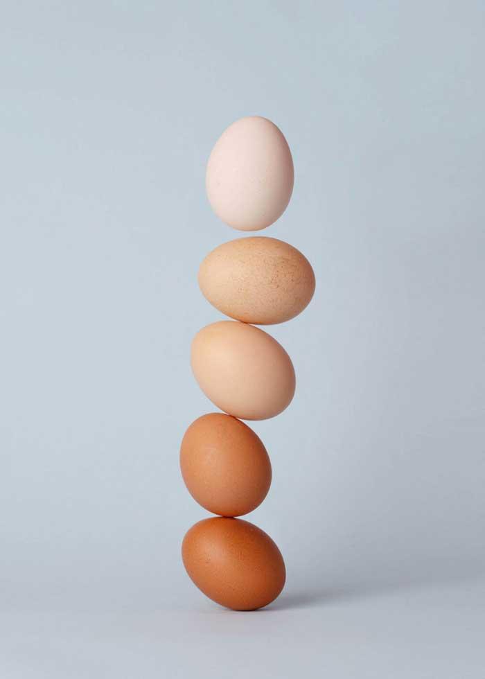 Cách chữa mụn ẩn dưới da bằng lòng trắng trứng gà