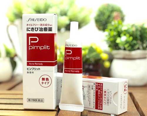 Kem trị mụn hiểu quả cho nam Shiseido Pimplit