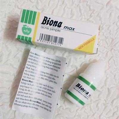 Ưu và nhược điểm của kem trị mụn trứng cá Biona Max