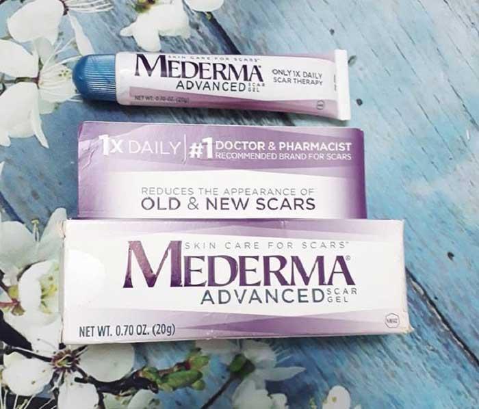 mederma advanced scar gel