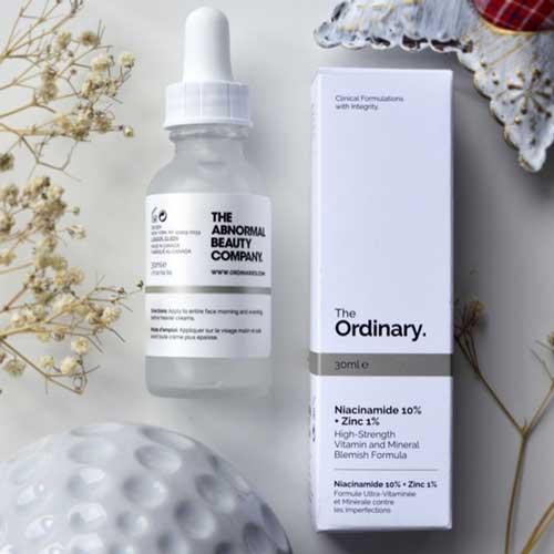 Serum trị mụn ẩn The Ordinary Niacinamide 10% + Zinc 1%