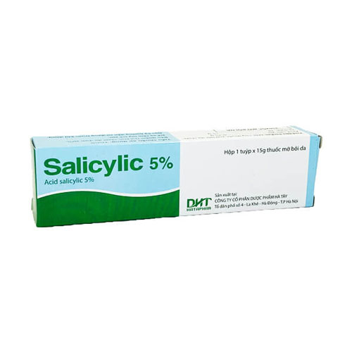 Acne medicine containing Salicylic Acid